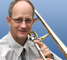 Brad Howland with Trombone